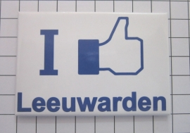 koelkastmagneet I like Leeuwarden N_FR2.001