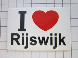 koelkastmagneet Rijswijk  N_ZH11.001