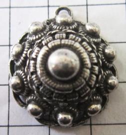Zeeuwse holle knop oogjesrand kleine 3 cm, eenoog ZB040
