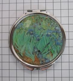 SPI 201 Spiegeldoosje Irissen,  Vincent van Gogh