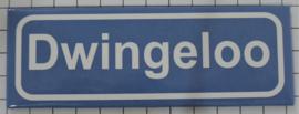 Koelkastmagneet plaatsnaambord Dwingeloo