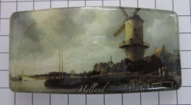 Haarspeld rechthoek HAR302 molen Ruysdael