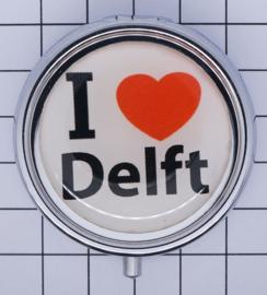 PIL_ZH5.001 pillendoosje I love Delft