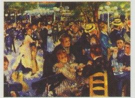 pak 50 stuks Kwaliteitsposters 35 x 45 cm  Bal - Auguste Renoir