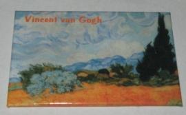 MAC: 20.413 Koelkast magneet Vincent van Gogh Cypresboom