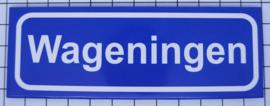 koelkastmagneet plaatsnaambord Wageningen P_GE3.0001