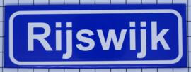 koelkastmagneet plaatsnaambord Rijswijk P_ZH11.0002