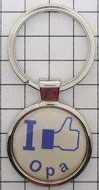 SLE 213 Sleutelhanger I like opa