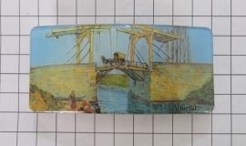Haarspeld rechthoek HAR412 brug Vincent van Gogh