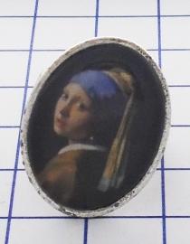 RIN 101 ring meisje parel Johannes Vermeer
