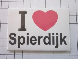010 Magneet I love Spierdijk