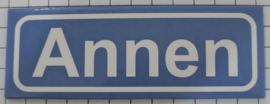 Koelkastmagneet plaatsnaambord Annen
