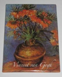 MAC: 20.403 Koelkastmagneet Vincent van Gogh keizerskroon