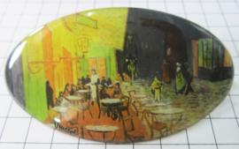 HAO 404 Haarspeld 8 cm cafe Vincent van Gogh
