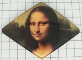 Haarspeld ruit Mona Lisa HAD 010