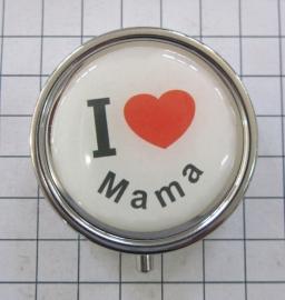 pil 045 pillendoosje ik hou van mama