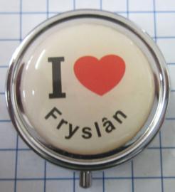 PIL_FR1.001 pillendoosje Ilove Fryslan