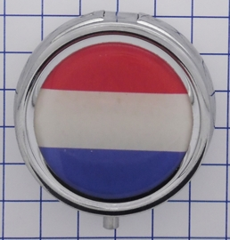 PIL510 pillendoosje Nederlandse vlag