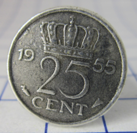 ring 25cent 1955