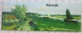 koelkastmagneet  Rijswijk schilderij historisch P_ZH11.0001