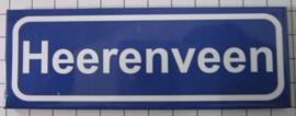 koelkastmagneet plaaatsnaambord Heerenveen P_FR5.0001