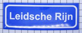 koelkastmagneet plaaatsnaambord Leidsche Rijn P_UT5.0001