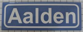 Koelkastmagneet plaatsnaambord Aalden