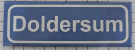 Koelkastmagneet plaatsnaambord Doldersum