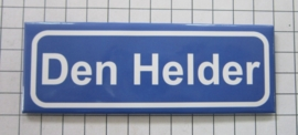 koelkastmagneet plaatsnaambord  Den Helder  P_NH8.0001