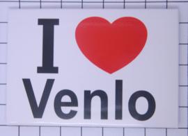 koelkastmagneet I ♥ Venlo N_LI10.001