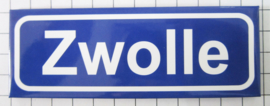 koelkastmagneet plaatsnaambord Zwolle P_OV3.0001