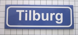 koelkastmagneet plaatsnaambord Tilburg P_NB2.0001