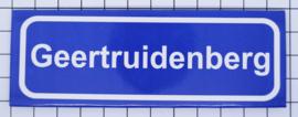 koelkastmagneet plaatsnaambord Geertruidenberg  P_ZE8.4001