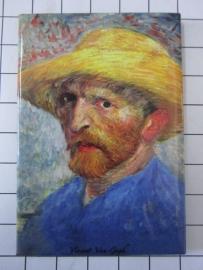MAC: 20.408 Koelkast magneet Vincent van Gogh