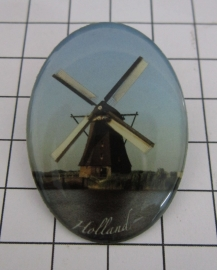 BRO 700 broche Hollandse molen
