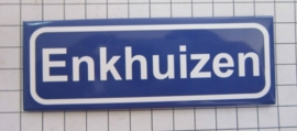 koelkastmagneet plaatsnaambord Enkhuizen N_NH2.0001