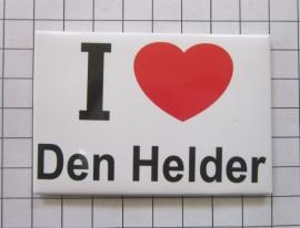 koelkastmagneet I ♥ Den Helder N_NH8.001