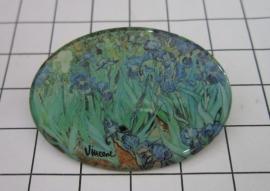 BRO 807 broche irissen van Gogh