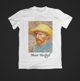 t-shirt Vincent van Gogh zelportret hoed