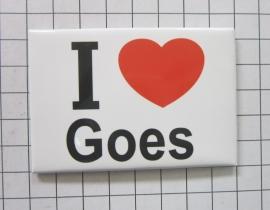 koelkastmagneet I ♥ Goes N_ZE4.001