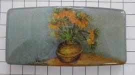 Haarspeld rechthoek HAR403 keizerskroon Vincent van Gogh