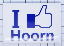koelkastmagneet I like Hoorn N_NH5.505