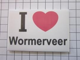 002 Magneet I love Wormerveer
