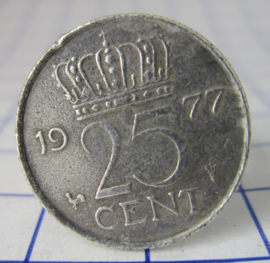 ring 25cent 1977