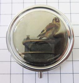 PIL514 pillendoosje met spiegel Puttertje