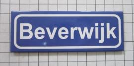 koelkastmagneet plaatsnaambord Beverwijk  P_NH7.5001