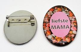 Broche liefste mama, leuk cadeautje voor moederdag ean = 8718481420324