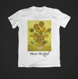 t-shirt Vincent van Gogh zonnebloemen