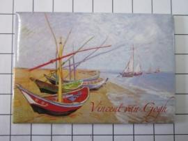 MAC: 20.414 Koelkast magneet Vincent van Gogh