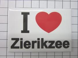 koelkastmagneet I love Zierikzee MAC:28.014